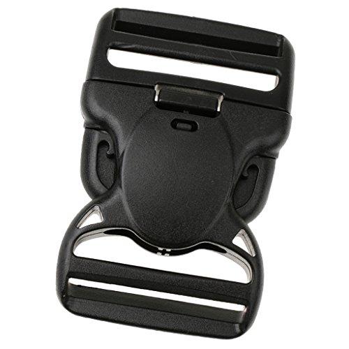 Sharplace Kunststoff Gurtschnalle Gurtband Klickverschluss Rucksack Gurtband Ersatz Steckschliesse - 38mm