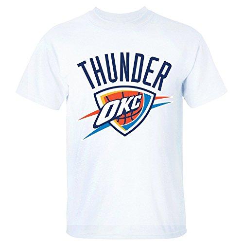 Triumph Turn Men's Oklahoma City Thunder Professional Basketball Team T Shirt