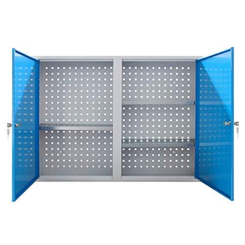 ADB Werkzeugschrank/Wandschrank/Hängeschrank/Werkstattschrank, 750x1000x200 mm, Hergestellt in der...