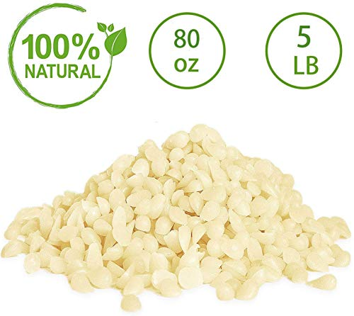 YIH 5-lb Pure White Beeswax Pellets-100% Pure