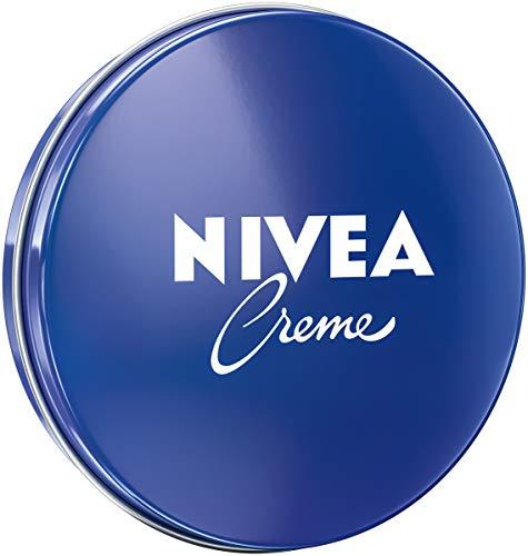 NIVEA Creme Dose Universalpflege (30 ml), klassische Feuchtigkeitscreme für alle Hauttypen, reichhaltige Hautcreme mit pflegendem Eucerit