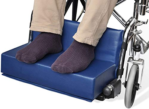 """NYOrtho Wheelchair Foot-Rest Extender Elevating Pad - Leg Cushion Protector 