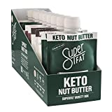 SuperFat Nut Butter Keto Snacks - Macadamia & Almond Nut Butter Fat Bomb Paleo Snack For Energy, Metabolism & Brain Function, Vegan, Gluten Free, Low Net Carb Box of 10 x 1.5 oz (Variety)