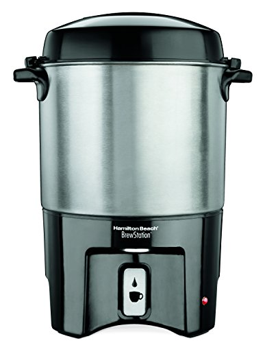 Hamilton Beach 40540 Brew Station 40-Cup Coffee Urn, Silver,Medium