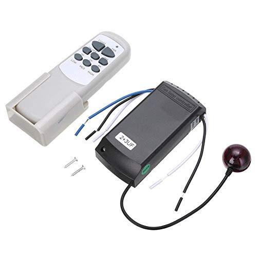 Ventilador Mando a Distancia Hogar Inalámbrico Receptor Universal Ventilador de Techo Luz Interruptor 220/240V Digital Lámpara Controlador Distribución