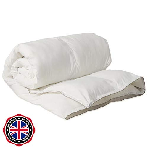 Bedding Comfort Store Anti Allergy Summer Cool Quilt 1.5 Tog Soft Touch Synthetic Duvet (Single)
