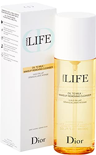 Christian Dior Hydra Life Oil to Milk Detergente Struccante, 200 ml