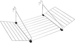 Metaltex 406902 Séchoir de Balcon en Plastique avec abattants 12m
