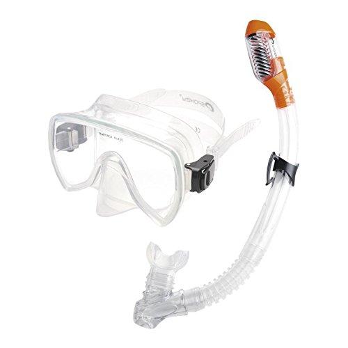 Spokey MALDIVE snorkelset voor volwassenen, duikbril, snorkel