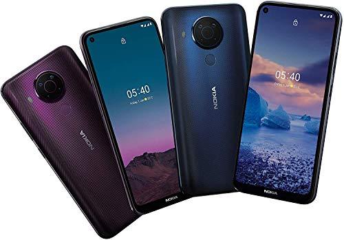 Nokia 5.4 Smartphone mit 6,39-Zoll-HD+-Display, 4 GB RAM, 128 GB Speicher, 48-MP-Vierfach-Kamera, Qualcomm Snapdragon 662, 2 Tagen Akkulaufzeit und Android-Upgrades, Dual-SIM - Polar Night - 6