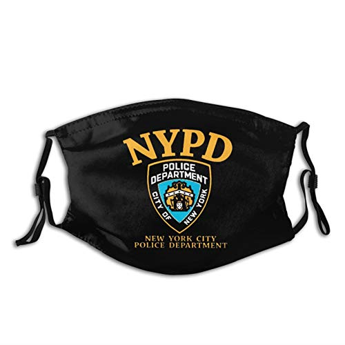 NYPD Badge Outdoor Mask, Protective 5-Layer Activated Carbon Adult Men and Women Headscarf