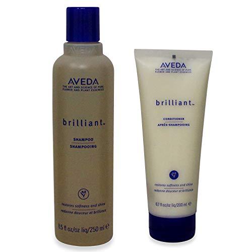 Aveda Brilliant Shampoo 8.5 oz & Conditoner 6.7 oz Duo Set