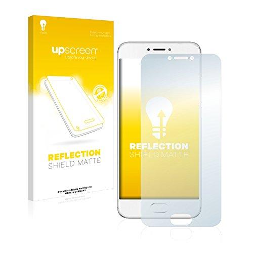 upscreen Entspiegelungs-Schutzfolie kompatibel mit Meizu Pro 6 – Anti-Reflex Bildschirmschutz-Folie Matt