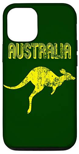 iPhone 12/12 Pro Australia Soccer Jersey Style Australian Pride Kangaroo Flag Case
