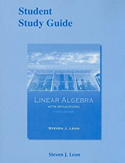 Student Study Guide for Linear Algebra with Applications