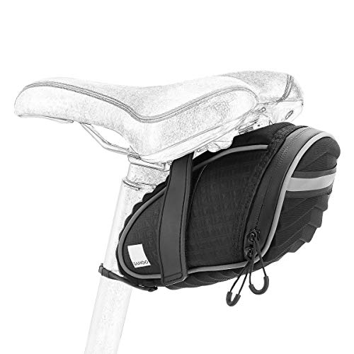 Sahoo Bike Saddle Bag 132035 Bicycle Tail Bag Under Seat Pouch Cycling Wedge Pack for Road Bike MTB Saddle Bags