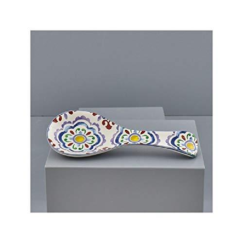 Poggiamestolo Sicilia in ceramica design MAIOLICHE bomboniera