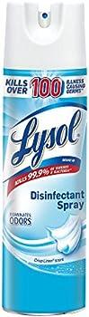 Lysol Disinfectant Crisp Linen Spray 12.50 Oz