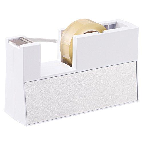 ニチバン セロテープ テープカッター 切り口まっすぐ直線美 TC-CBK5 小巻用 白