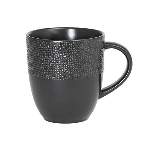 Mug 30 cl Vésuvio noir (Lot de 6)