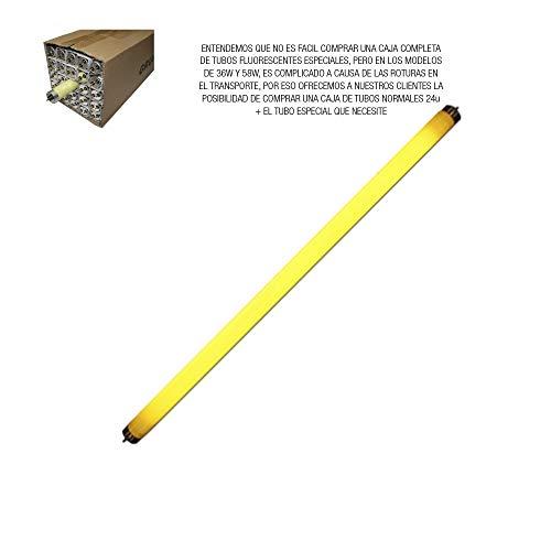 REGLETA ESTANCA PARA TUBO LED EQ 2X58W 155 CM EDM IP44
