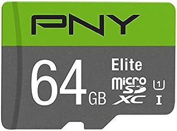 PNY Elite 64GB MicroSDHC Card