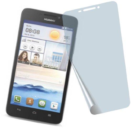 I 4X Huawei Ascend G630 ENTSPIEGELNDE Premium Bildschirmschutzfolie Displayschutzfolie Schutzhülle Bildschirmschutz Bildschirmfolie Folie
