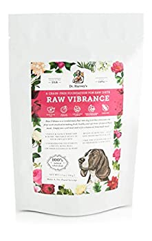 Dr Harvey s Raw Vibrance Grain Free Dehydrated Foundation for Raw Diet Dog Food  Trial Size 5.5 oz