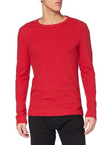BOSS Tempest Camiseta, Rosa, S para Hombre