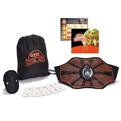 Genius Gymform Total Abs Fitness Bauchweggürtel für Damen und Herren - EMS-Trainer für Bauch, Arme & Beine - elektrischer Bauchweg Trainer Bauchmuskeltrainer für den Muskelaufbau