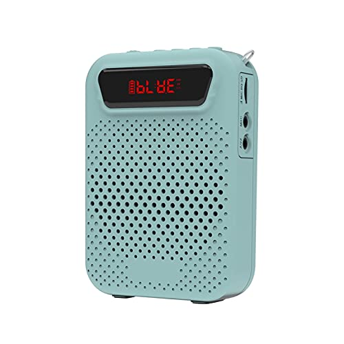 Mini orateur pour la maison Amplificateur vocal portable 5W mini haut-parleur portable stéréo sonore câblé par haut-parline de microphone pour enseignants et discours de fête Haut-parleur sans fil