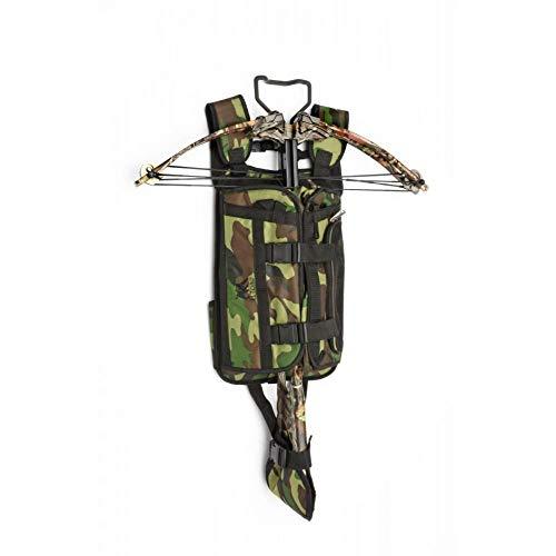 Tragesystem für Armbrüste mit vielen Taschen camo