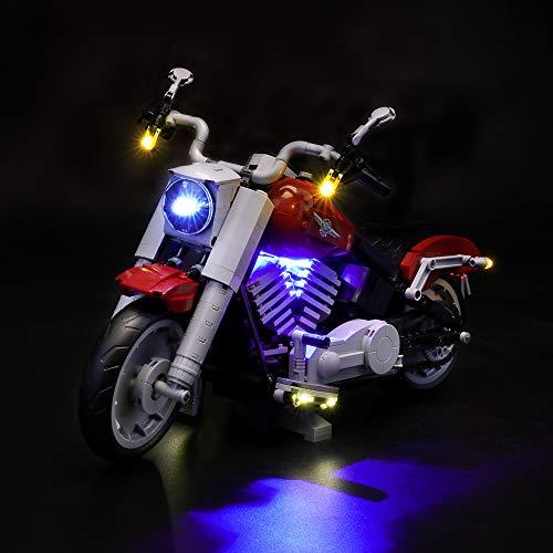 LIGHTAILING Licht-Set Für (Creator Harley-Davidson) Modell - LED Licht-Set Kompatibel Mit Lego 10269(Modell Nicht Enthalten)