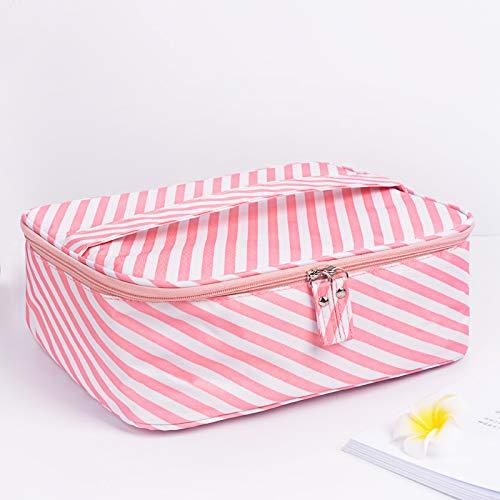 Sac cosmétique beauté sac cosmétique hommes et femmes sac de lavage grande capacité de stockage imperméable sac de rangement imperméable à l'eau simple sac cosmétique portable 24 * 20 * 9CM B3