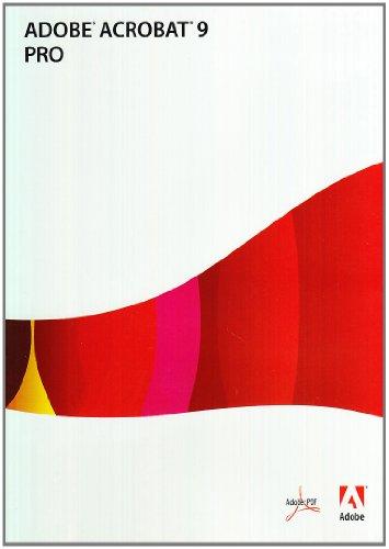 Adobe Acrobat Professional Pro 9.0, DVD, Win, IT - Autoedición (DVD, Win, IT, Italiano, Caja, DVD, 2181 MB, 256 MB, 1.3GHz)