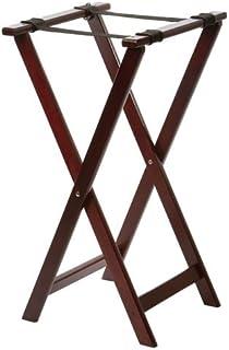 Tablecraft - Soporte plegabe para bandejas madera color Mahón