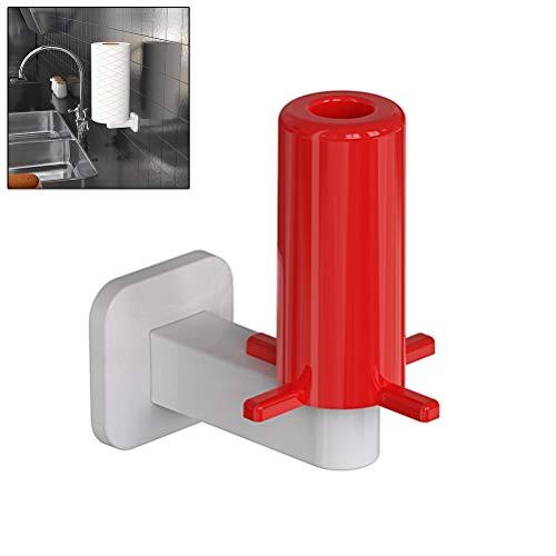 SUNTAOWAN De una Sola Pieza montada en la Pared de Papel Portarrollos Accesorios for Barras de plástico de Cocina baño de Toallas Organización Accesorio