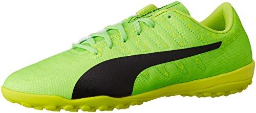 Puma Herren Evopower Vigor 4 TT Fußballschuhe, Grün (Green Gecko-Puma Black-Safety Yellow 01), 44.5 EU