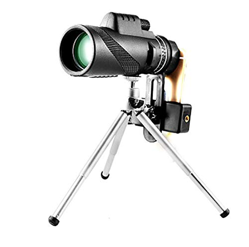 Find Discount Monocular Long Range 1000m Telescope for Smartphone 40X60 Military Spyglass Zoom HD Hu...