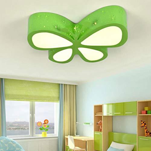 DD creatieve vlinder-roze-meisjesslaapkamer plafondlamp, LED baby-kamer verlichting decoratieve plafondlamp 01-04