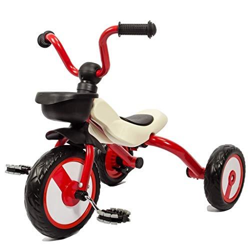 Het vouwen van kinderen driewieler, fiets, baby kinderen fiets, niet-opblaasbare 3-6 jaar oude fiets, glad scooter for kinderen (Color : B)