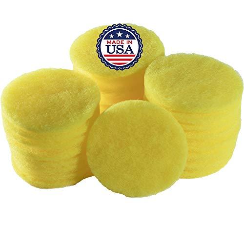 Ceramatop Dot Ceramic & Glass Scrubber Sponge – Ergonomic Scrubbing Sponge – Non-Stick, Cooktops, Countertops, Pots, Pans, & Dishes - Deep Cleaning, Scratch Free (25 Pack)