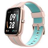 """Ulefone Watch GPS - 40 Días Duración Batería, Reloj Inteligente 5ATM Impermeable, Pantalla 1,3"""", Pulsera Actividad Deportivo, Pulsómetro, Rastreador Ejercicios Monitor Sueño para iOS Android Rosado"""