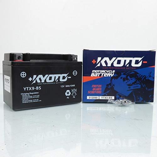 Kyoto - Batteria per moto Honda 600 Vt C Shadow 1989-1998 YTX9-BS SLA / 12 V 8 Ah