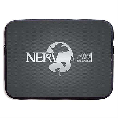 Laptop Sleeve Case Neon Genesis Evangelion Notebook Computer Pocket Case for 13-15 Inch MacBook Pro/MacBook Air/Notebook Computer