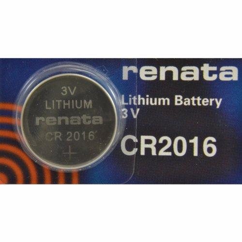 Renata CR2016 3V Lithium Münze Zelle Uhr Batterie DL2016, ECR 2016, BR 2016 (2 X CR 2016)