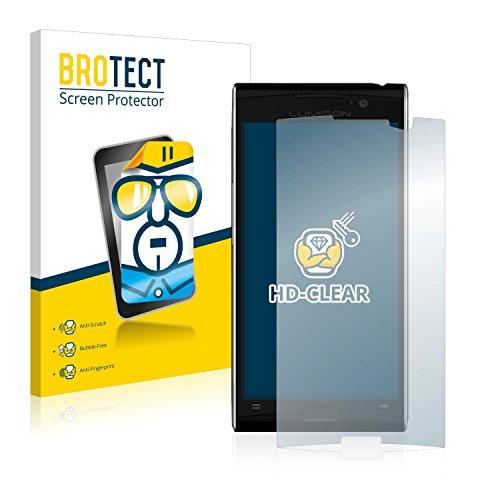 BROTECT Schutzfolie kompatibel mit Lumigon T3 (2 Stück) klare Bildschirmschutz-Folie