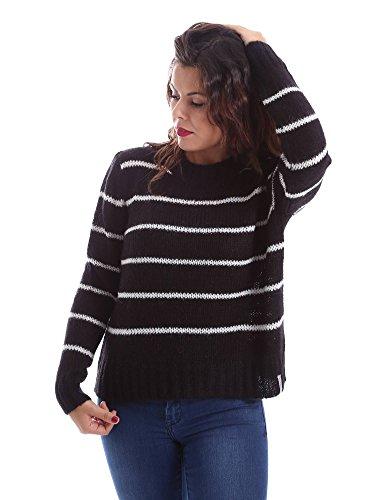 Superdry Nordic Stripe Mohair Jumper trui & gebreide jassen zwart