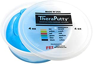 Cando-10-0908 CanDo TheraPutty Standard Exercise Putty, Blue: Firm, 4 oz,Pack of 1