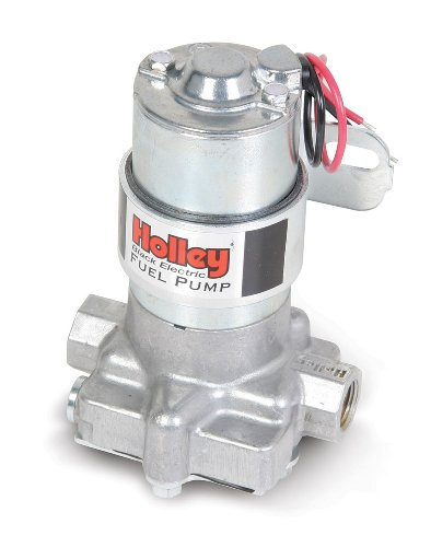 Holley - 12-815-1 Electric Fuel Pump Black Auto